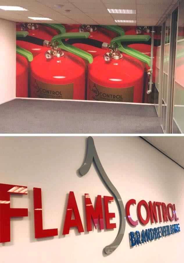 Combinique Reclame Flame Control