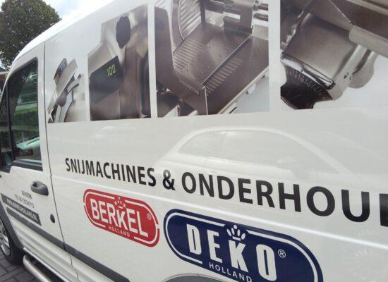Combinique Reclame autobestickering Berkel Deko