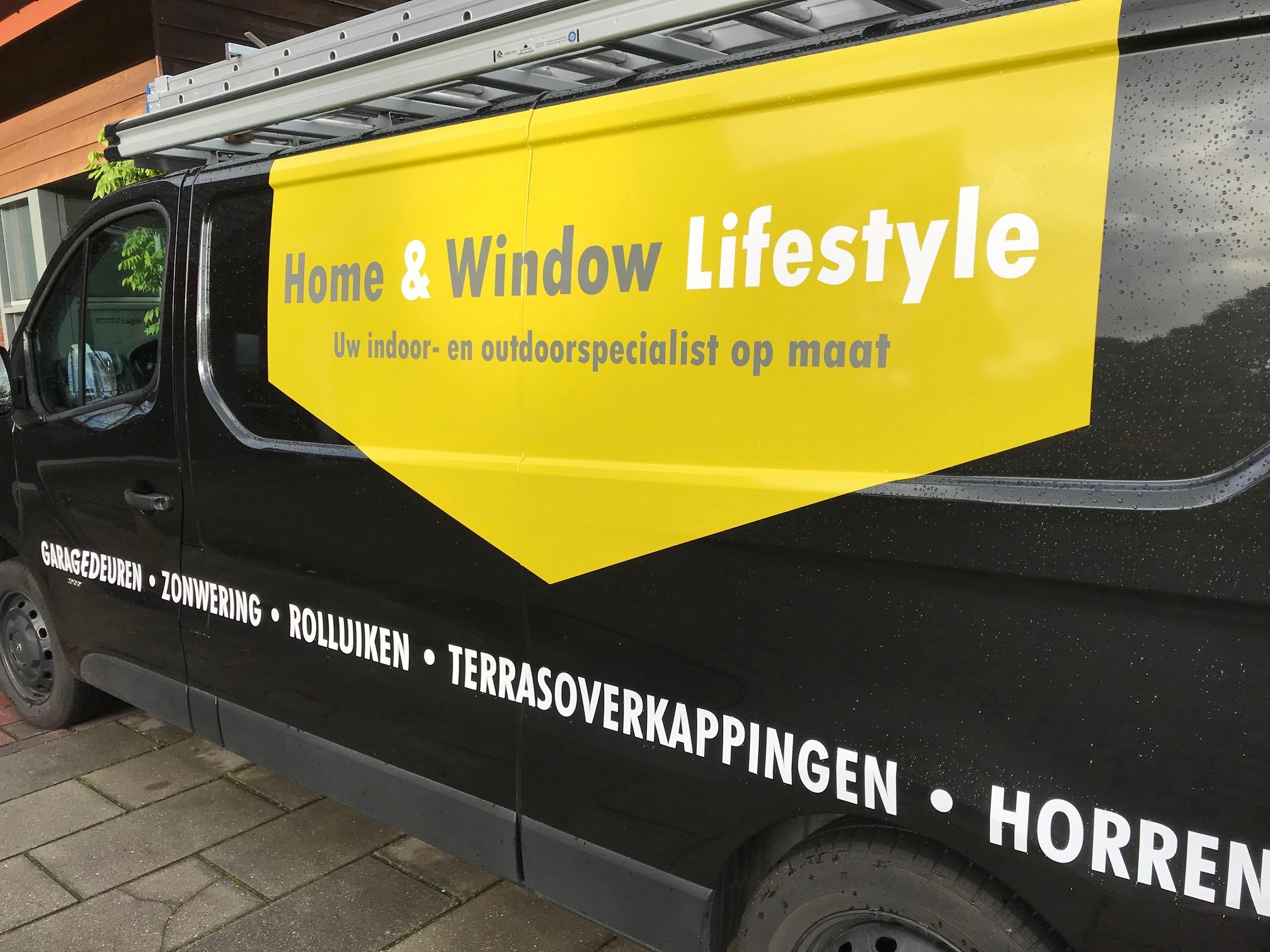 Combinique Reclame autobestickering Home Window