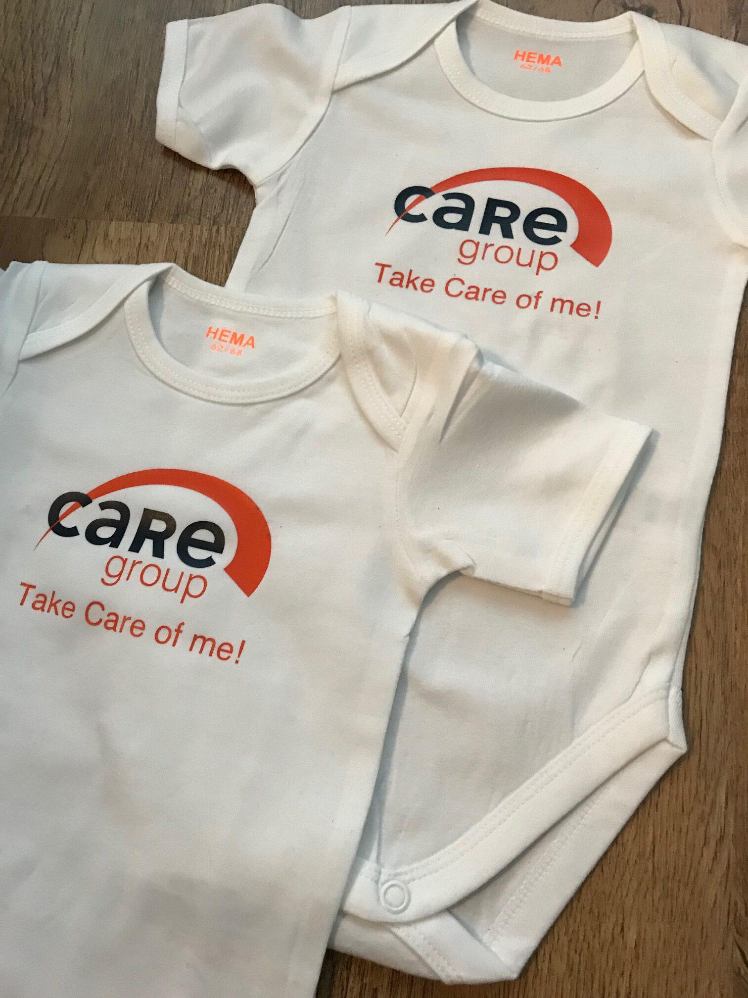 Combinique Reclame kleding bedrukken Care