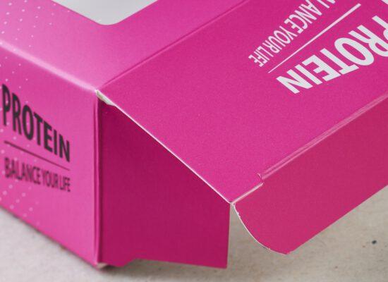 combinique reclame drukwerk roze